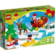 LEGO® DUPLO® 10837 Zimowe Ferie Świętego Mikołaja
