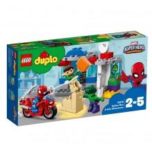 LEGO DUPLO 10876 Przygody Spider-Mana I Hulka