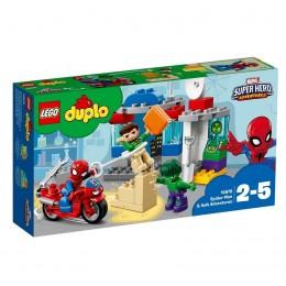 LEGO® DUPLO® 10876 Przygody Spider-Mana I Hulka