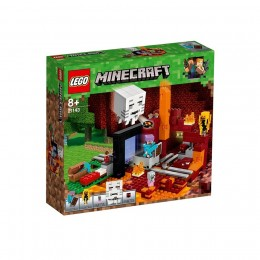 Klocki LEGO Minecraft 21143 Portal do Netheru