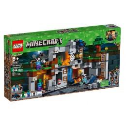 Klocki LEGO® Minecraft™ 21147 Przygody na Skale Macierzystej