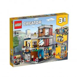 LEGO Creator 31097 - Sklep zoologiczny i kawiarenka