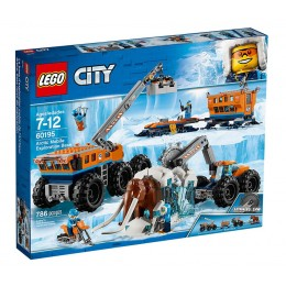 LEGO® City 60195 Arktyczna baza mobilna