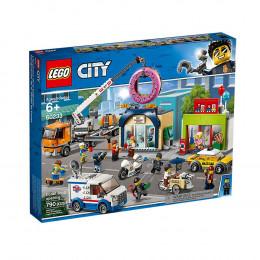 Klocki LEGO City 60233 Otwarcie sklepu z pączkami