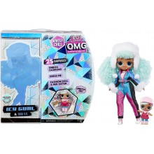 LOL Surprise! – Winter Chill OMG – Lalka Icy Gurl + Brrr B.B. 570240