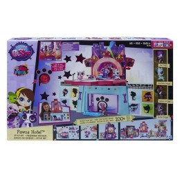 Littlest Pet Shop  B1240 Hotel Pawza + 4 figurki