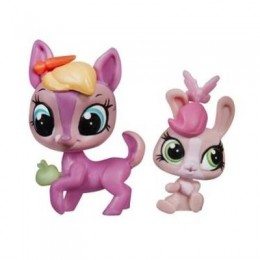 Littlest Pet Shop A9390 Fay Woods i Curtsy Cotton z akcesoriami