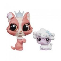 Littlest Pet Shop A9397 Bonnie Barkington i Puffball Petrovsky z akcesoriami