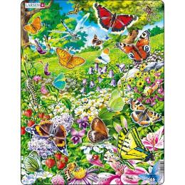 Larsen - Motyle - Układanka z puzzlami 12089