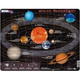 Larsen - Układ Słoneczny - Układanka z puzzli 23019