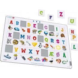 Larsen - Układanka ABC - Puzzle z alfabetem 36088