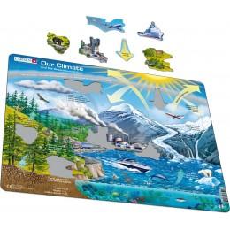 Larsen - Układanka Nasz klimat i efekt cieplarniany - Puzzle 39010