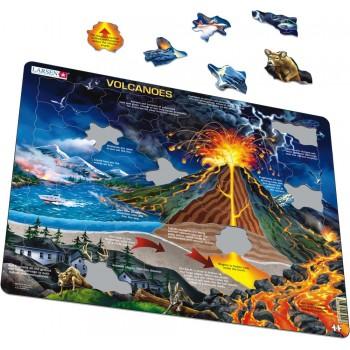 Larsen - Układanka Wulkany - Puzzle 39027