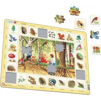 Larsen - Układanka Las - Puzzle 44045