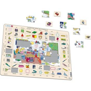 Larsen - W szkole - Nauka angielskiego - Układanka Puzzle 47060