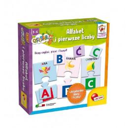 Gra Lisciani - Gra edukacyjna - Alfabet i pierwsze liczby - 54961