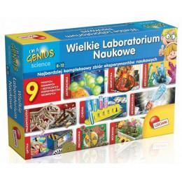 Lisciani - I'm a Genius - Wielkie Laboratorium Naukowe 9w1 - 57580
