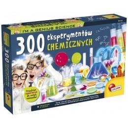LISCIANI – Zestaw naukowy - 300 eksperymentów chemicznych 62362