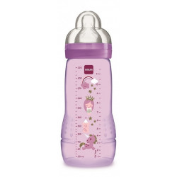 MAM BABY - Butelka Easy Active +4msc 330ml - FIOLETOWA 39067
