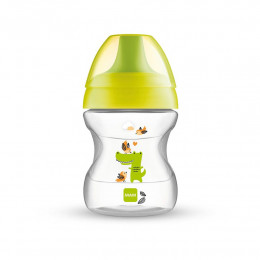 MAM BABY - Kubek 'Learn To Drink Cup' 190ml +6msc - ŻÓŁTY 40384