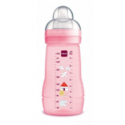 MAM BABY - Butelka Easy Active +2msc 270ml - RÓŻOWA 91200