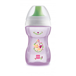 MAM BABY - Kubek 'Fun To Drink Cup' 270ml +8msc - RÓŻOWY 91224