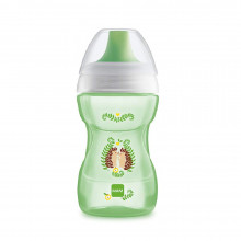 MAM BABY - Kubek 'Fun To Drink Cup' 270ml +8msc - ZIELONY 91224