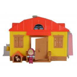Simba - Masza i Niedźwiedź - Domek Maszy z wyposażeniem 16336