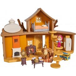 Simba - Masza i Niedźwiedź - Domek Niedźwiedzia z wyposażeniem 25144