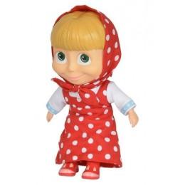 SIMBA Masza i Niedźwiedż - Lalka Masza w stroju czerwonym 22 cm