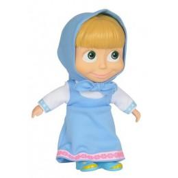 SIMBA Masza i Niedźwiedż - Lalka Masza w stroju niebieskim 22 cm