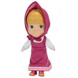 SIMBA Masza i Niedźwiedż - Lalka Masza w stroju różowym 22 cm