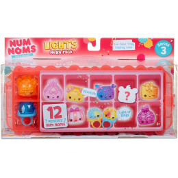 Num Noms - Świecące pierścionki - Lights Mega Pack - Seria 3 550563