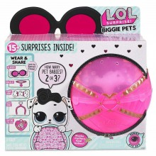 LOL Surprise! Biggie Pets Eye Spy - Kula z pieskiem Dollmation i niespodziankami - 552239