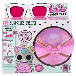 LOL Surprise! Biggie Pets Eye Spy - Kula z króliczkiem Hop Hop i niespodziankami - 552246