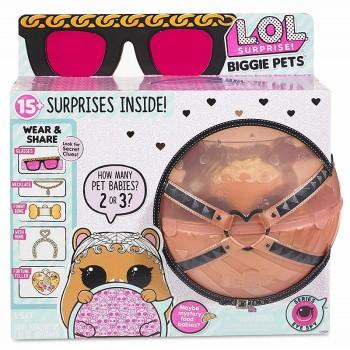LOL Surprise! Biggie Pets Eye Spy - Kula z chomikiem MC Hammy i niespodziankami - 552253