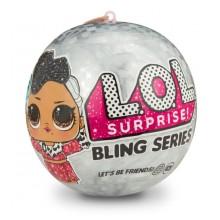 LOL Surprise! Świąteczna laleczka - niespodzianka w kuli 554806