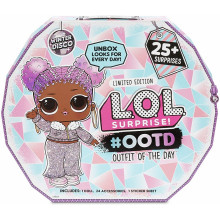 LOL Surprise! - Kalendarz adwentowy - Walizka Winter Disco #ootd - 559740