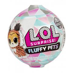 LOL Surprise! Fluffy Pets - Zwierzątko-niespodzianka z futerkiem Winter Disco - 560487