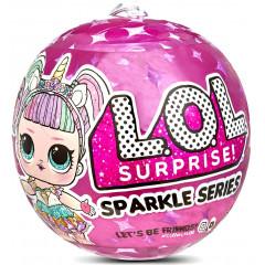 LOL Surprise! Błyszcząca laleczka - niespodzianka w kuli - Sparkle Series 560296