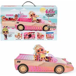 LOL Surprise! - Samochód z basenem i parkietem tanecznym + laleczka 565222