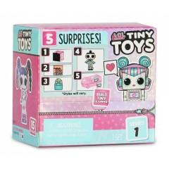 LOL Surprise! - Tiny Toys – Miniaturowa laleczka z akcesoriami – 565802