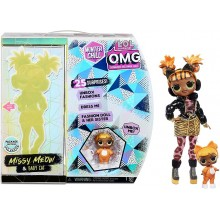 LOL Surprise! – Winter Chill OMG – Lalka Missy Meow + Baby Cat 570271