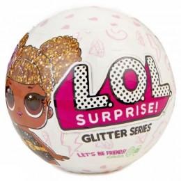 LOL Surprise! Glitter - Brokatowa laleczka w kuli - niespodzianka - Edycja limitowana