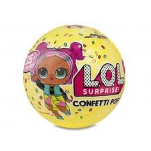 LOL Surprise! Laleczka - niespodzianka w kuli CONFETTI POP - 3 seria