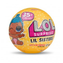 LOL Surprise! Mała laleczka niespodzianka w kuli - Siostrzyczki 3 SERIA