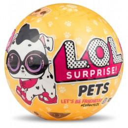 LOL Surprise! Niespodzianka w kuli - Zwierzątka - Pets 3 seria