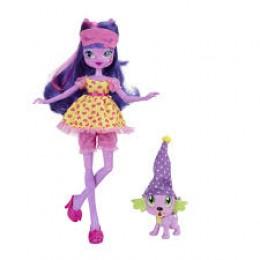 My Little Pony - Equestria Girls Twilight Sparkle i Piesek Spike B1072