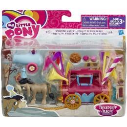 My Little Pony B5567 Wagonik Powitalny Osiołka Cranky Doodle