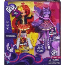 My Little Pony A3997 Equestria Girls Sunset i Twilight